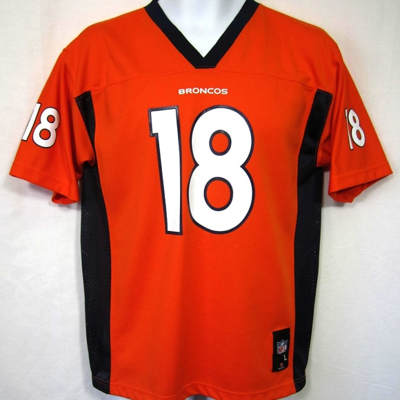 93d4774190e NFL Team Apparel Shirts & Tops | Denver Broncos Peyton Manning Shirt ...